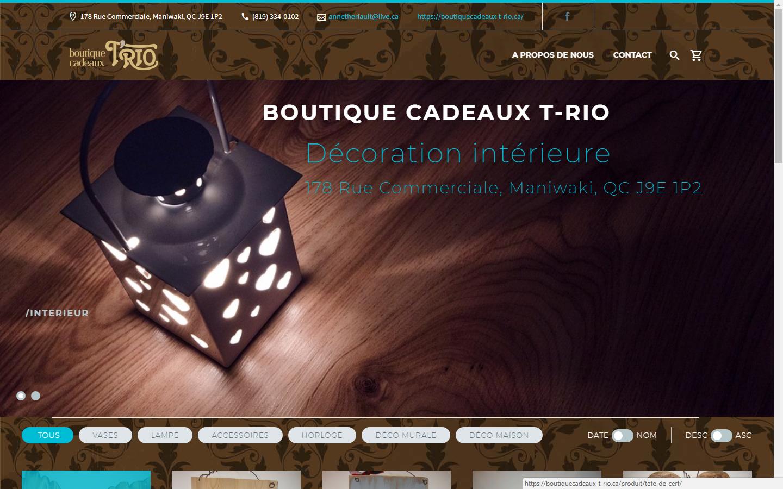 boutique t-rio web