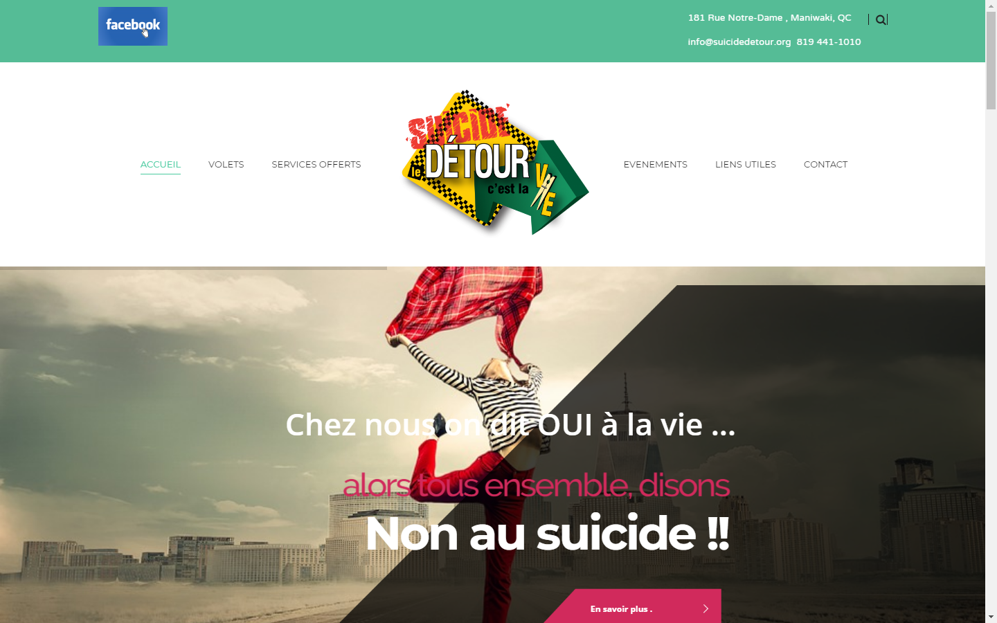 suicide detour creation web